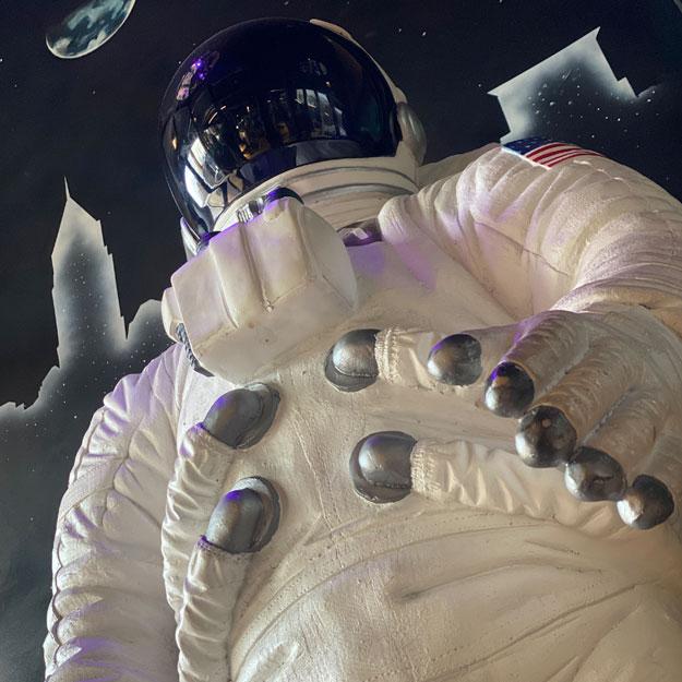 mars bar astronaut
